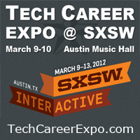 Find a job at the first Tech Career Expo @ SXSW