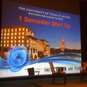 10 Companies Shine at UT's 1 Semester Startup Demo Day