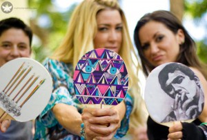 Uberpong's Ping Pong Paddles Feature Austin Artists