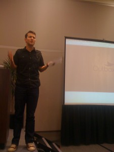 Evan Baehr, co-founder of Outbox