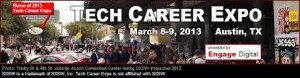 Register for the Austin Tech Career Expo at SXSW