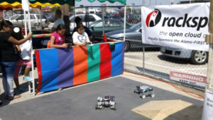 Roosevelt High School Robots. Photo by Andrew Moore