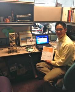 Ray Hsu, Senior Program Manager, K-12 Education at National Instruments