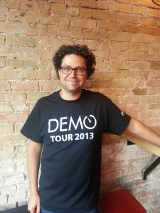 Erick Schonfeld,  executive producer of DEMO. photos by Susan Lahey