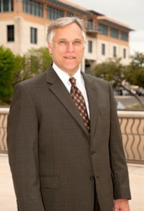 Gerard Sanders, the new dean of the College of Business at UTSA.
