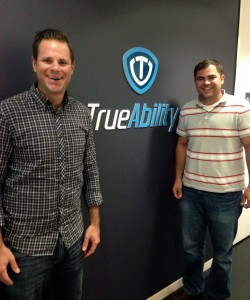 "Frederick ""Suizo"" Mendler, Co-Founder and Luke Owen, CEO of TrueAbility"