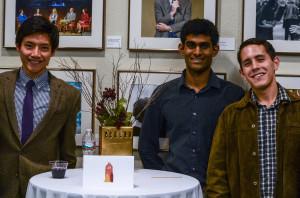 The Austin Thermal team of Zi-on Cheung, Ashvin Bashyam and Emmanuel Nunez (photo courtesy of Austin Thermal)