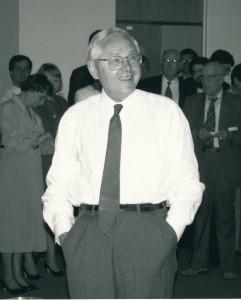 George Kozmetsky, photo courtesy of the University of Texas