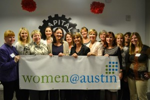 The steering committee behind Women@Austin, photo by Sara Peralta