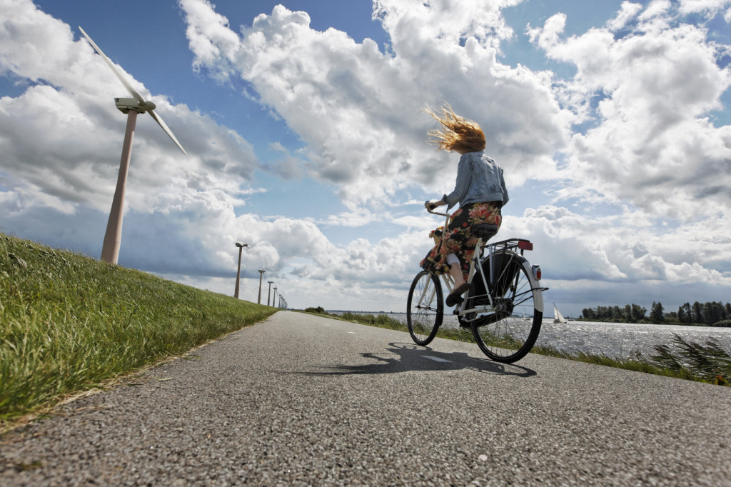 The freedom of a bike, photo licensed from iStock