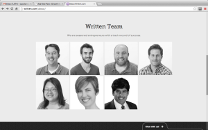 The team behind Written.com