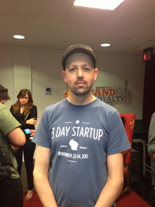 Jeremiah Donohue, project manager for 3 Day Startup Green