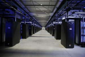 Facebook data center, photo courtesy of Facebook