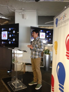 Daniel Navarro with Google for Entrepreneurs
