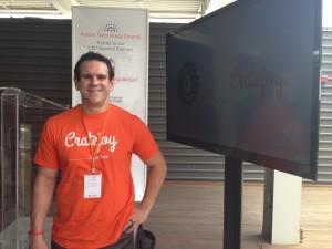 Amir Elaguizy, founder of Cratejoy, a Capital Factory company.