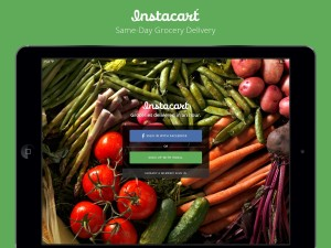Instacart ipad-screenshot
