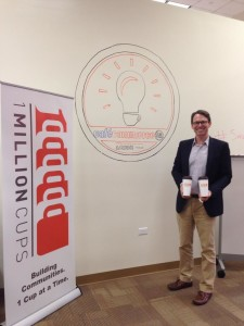 Peter French, president of Cafe Commerce, is one of the organizers behind 1 Million Cups San Antonio