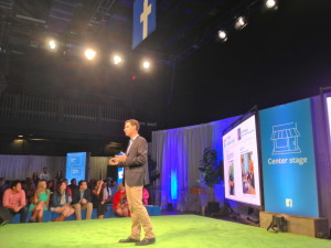 Dan Levy, Facebook's  director of small business at the Facebook Austin Fit event.
