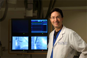 Dr. John Gurley, founder of Bluegrass Vascular
