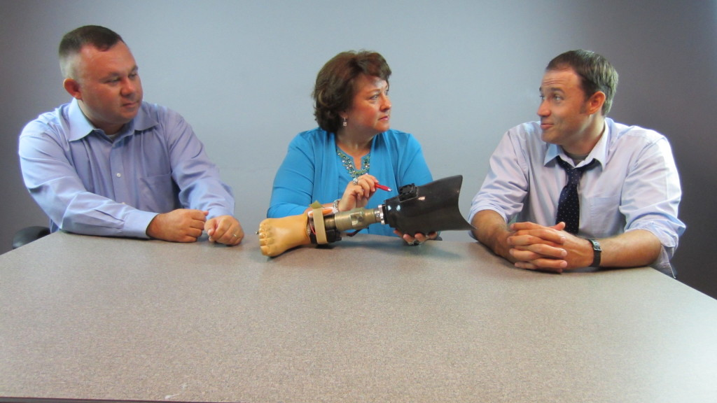 Leto Solutions Team Members Gary Walters, Becky Ariana and Justin Stultz, photos courtesy of Leto Solutions