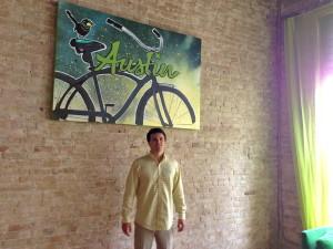 Ryan Farley, co-founder of LawnStarter, a Techstars company in Austin