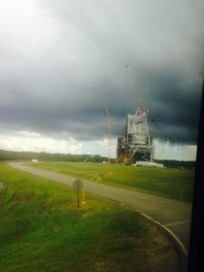 The B1/B2 Rocket Engine Test Stand at Stennis Space Center, photo by Laura Lorek