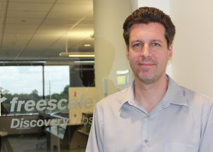 David Kramer, director of the Freescale Discovery Lab