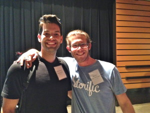 Zachary Stovall and Kyle Cornelius, cofounders of Storific.