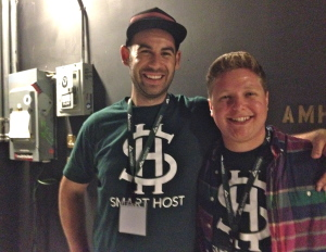 Evan Hammer and Nick Persico, co-founders of Smart Host