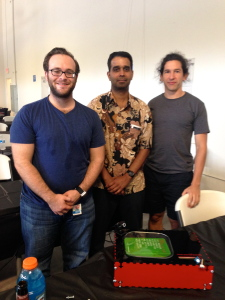 MeasrFood Team Members Brad Hughes, V.J. Velacheri and Chris Boette