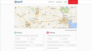Dropoff Order page