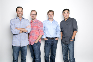 Dropoff Founders: Sean Spector, Christian Carollo, Ted Hong and Jason Klann
