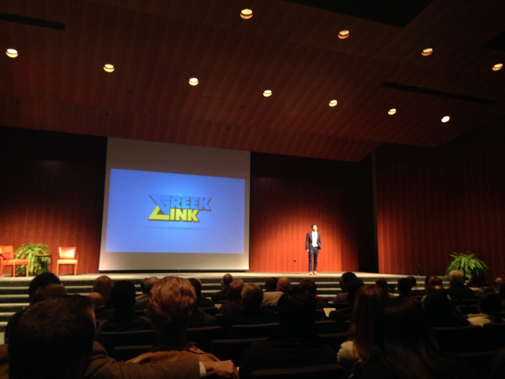 Greek Link at Longhorn Startup Demo Day