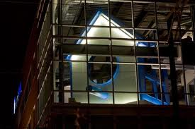Birdhouse at HomeAway's Austin headquarters, photo courtesy of HomeAway