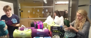 SpareFoot Employees Provide Swag Bags for Foster Children