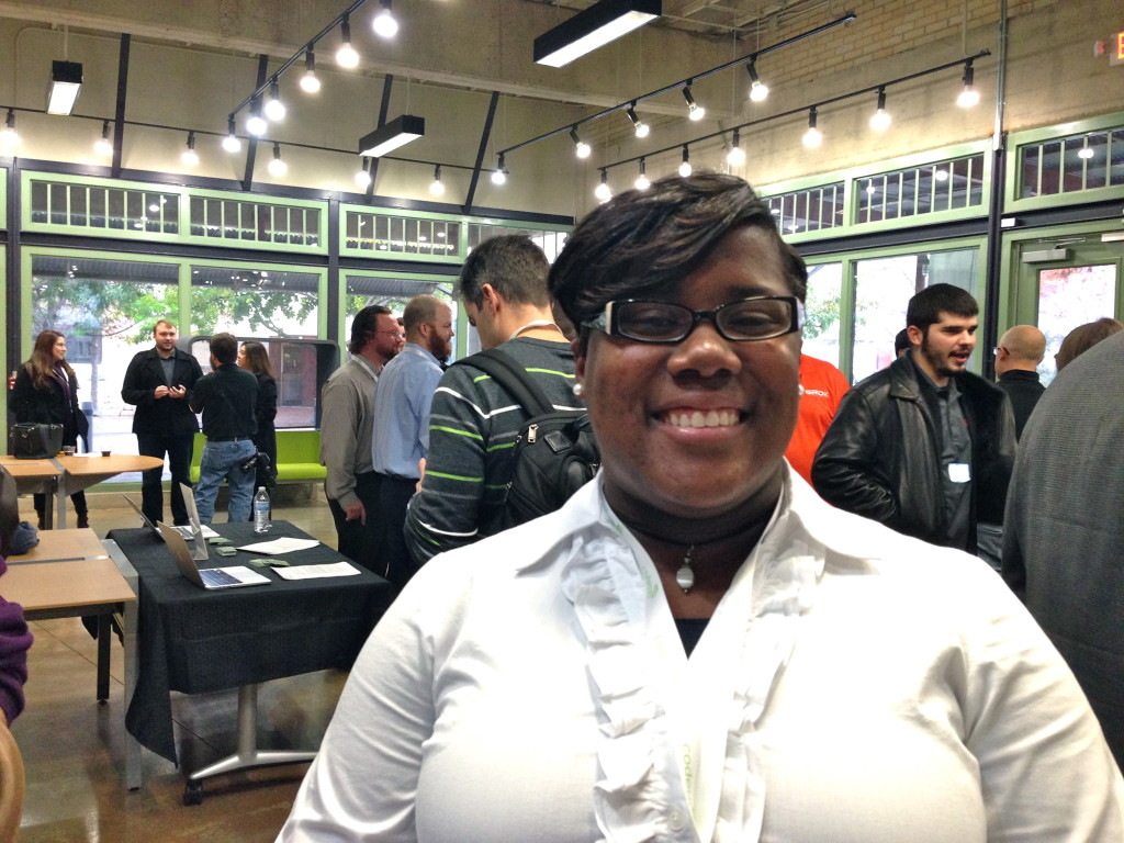 Josee Farmer, a recent graduate of Codeup