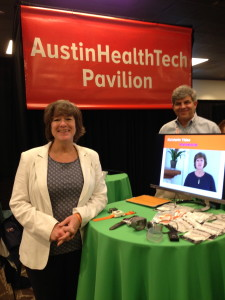 Jean Anne Booth, CEO of UnaliWeat at the Austin HealthTech Pavillion at SXSW