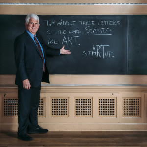 Bob Metcalfe, Professor of Innovation at the University of Texas at Austin, photo by John Davidson