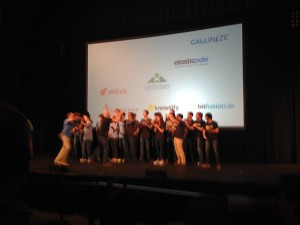 The Techstars Cloud 2015 Class at Demo Day