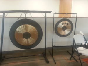 Spiceworks' gong, because what startup doesn't have its own gong?