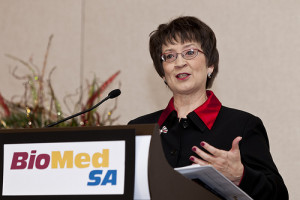 Ann Stevens, president of BioMed SA, courtesy photo.