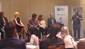 Austn Startup Showcase Panel at ATC's Healthcare event.