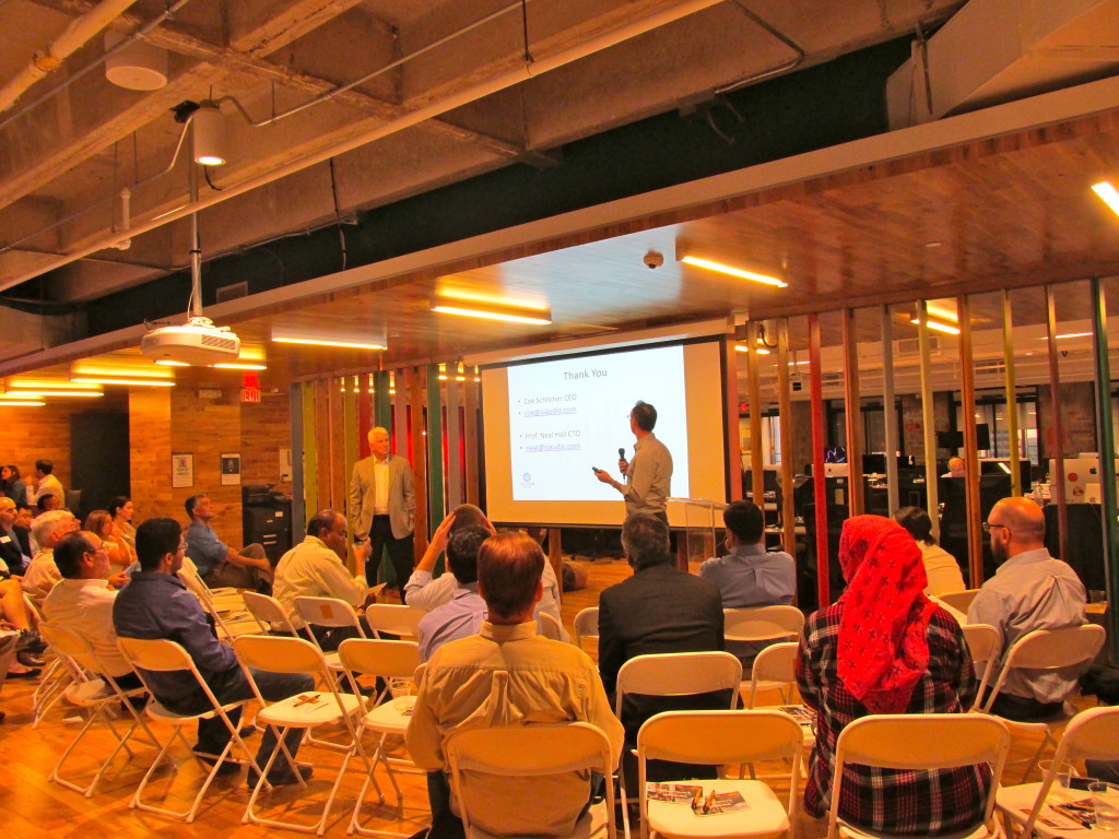 The October meeting of The stARTup Studio led by Bob Metcalfe, professor of innovation at UT.