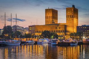 Skyline of Oslo, photo licensed from iStockphotos.