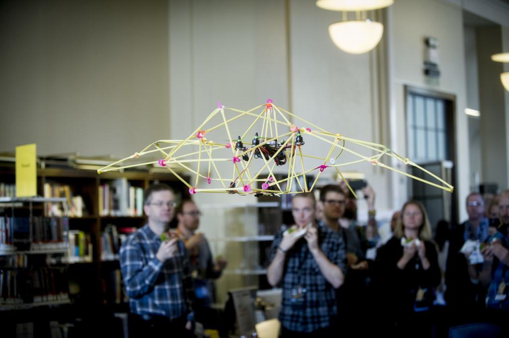 Oslo, 16.10.2015. JUST MAKE IT! Maker Event at Oslo Innovation Week. Photo: Gorm K. Gaare COPYRIGHT:GORM K.GAARE/EUP-BERLIN