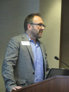 Matthew Cowperthwaite, director of research and technology at St. David's Neuroscience department, presented TyPos.