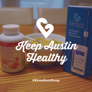 Favor and Kinsa Team up to Send Soup to Sick People in Austin