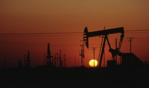 Oil field photo licensed from iStockPhotos.com