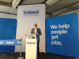 Chris Hyams, president of Indeed, the world's largest job site.