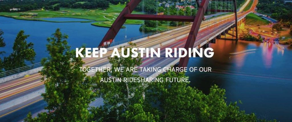 Photo courtesy of RideAustin